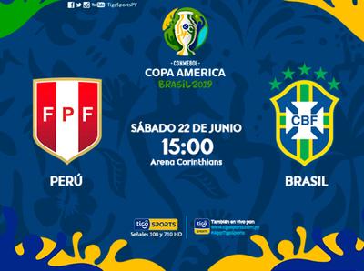 Perú y Brasil, por asegurar el pase a cuartos
