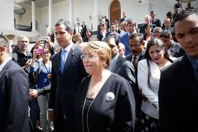 """Bachelet: """"me duele la situación de los derechos humanos en Venezuela"""""""