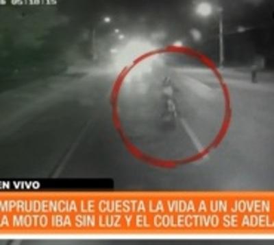 Imprudencia ocasiona fatal accidente en Areguá