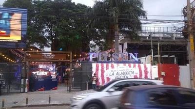 Habilitan quincho para disfrutar los partidos de Paraguay en la Copa América