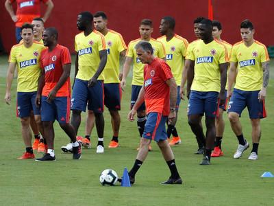 El posible equipo de Colombia para enfrentar a Paraguay