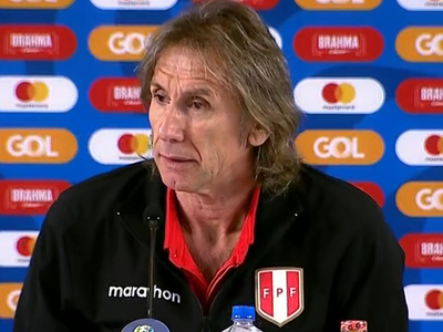 Gareca reconoce superioridad brasileña en el juego