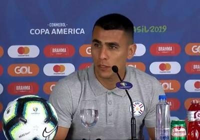 Junior Alonso y el objetivo ante Colombia