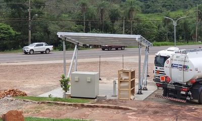 Montan estaciones de carga para vehículos eléctricos