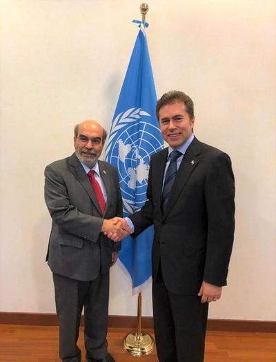 Canciller agradece a FAO la cooperación permanente que brinda a Paraguay