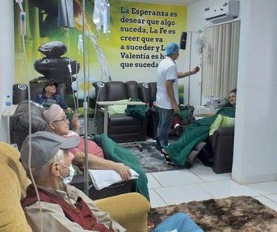 Fundación realizó 400 sesiones de quimioterapia en un año de servicio