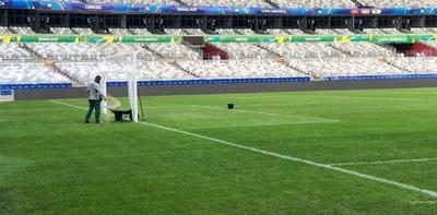 HOY / El mal estado del césped en la Copa América exaspera a los jugadores