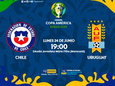 Ser primeros es la meta de Chile y Uruguay