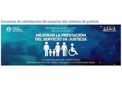 Inician encuesta de satisfacción de usuarios de justicia