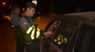 Casi 400 ebrios al volante fueron retenidos por la Policía Caminera