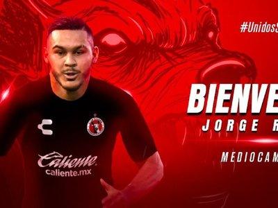 Jorge Rojas con nuevo club en México