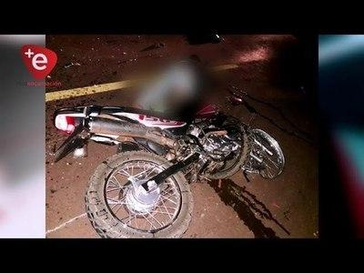 4 MOTOCICLISTAS MUERTOS ENTRE EL SÁBADO Y DOMINGO