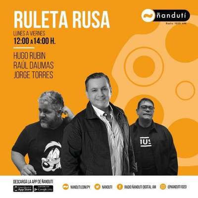 Ruleta Rusa con Hugo Rubin, Jorge Torres Raúl Daumas y Jorge Torres