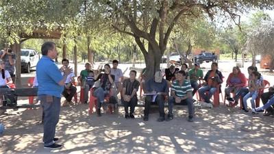 Ejecutan proyecto de instalación de sistema de agua potable para Tte. Martínez