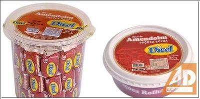 Anvisa proíbe venda de paçoca por alto teor de substância cancerígena.
