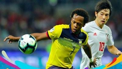 Goles Copa América: Ecuador 1-1 Japón · Radio Monumental 1080 AM