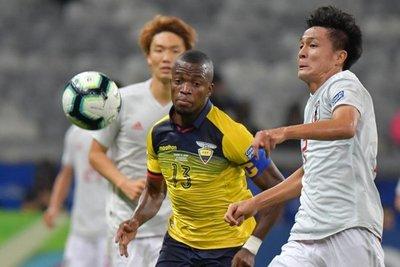 Japón y Ecuador empataron y la albirroja celebra su clasificación