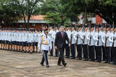 Jefe de Estado entregará bastón de mando a oficiales superiores de la Policía Nacional