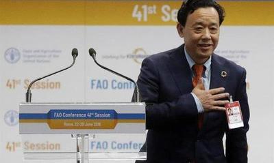 A pesar de EE.UU., China se hizo del control de la FAO