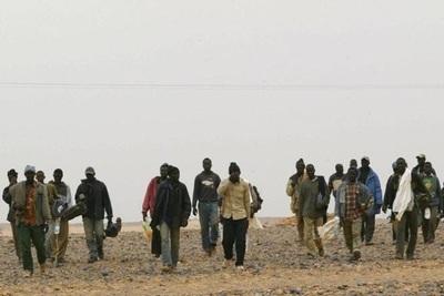 ONU ha rescatado a unos 20.000 migrantes abandonados en el desierto del Sahel