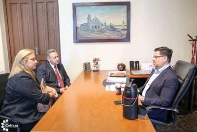 SNC y municipalidad de Quiindy desarrollarán proyectos culturales