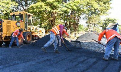 Arrancan obras de pavimentación y conexiones viales en la zona del Multiviaducto de CDE