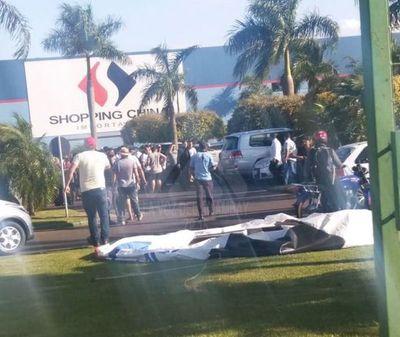 Asesinan a un expolicía en Pedro Juan Caballero