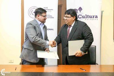 Firman convenio para el desarrollo cultural de Alto Paraguay