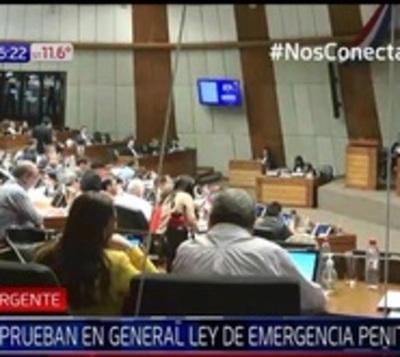 Diputados aprueba en general declaración de emergencia penitenciaria