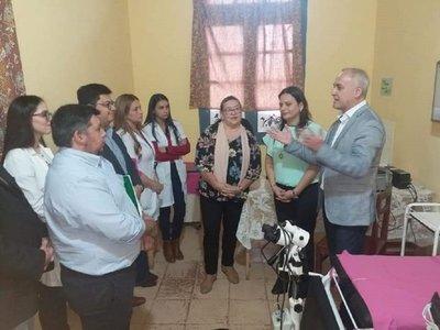 Habilitan nueva unidad de consultorio en Hospital Regional Villarrica
