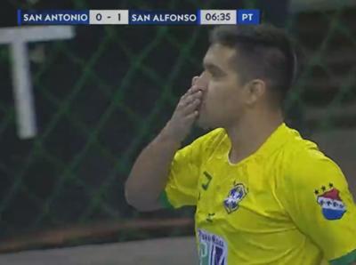 San Alfonso supera a San Antonio y es líder