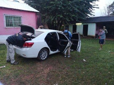 Azote'y: Incautan drogas y detienen a presunto jefe narco