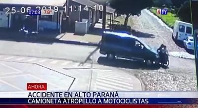 Brutal accidente de tránsito en Ciudad del Este