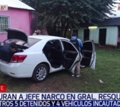 Capturan a jefe narco e interceptan carga de droga escondida en camión