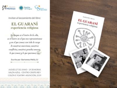 Invitan al lanzamiento del libro ´Guaraní, Experiencia Religiosa´