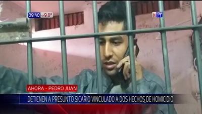 Capturan a presunto sicario en Pedro Juan Caballero