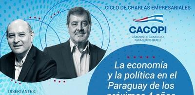Cacopi invita a conversatorio sobre economía y política