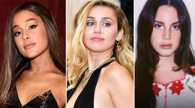 Miley Cyrus compartió un adelanto de su colaboración con Lana Del Rey y Ariana Grande
