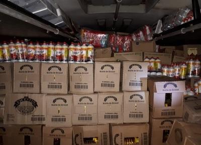 COIA interviene dos importantes cargamentos de contrabando