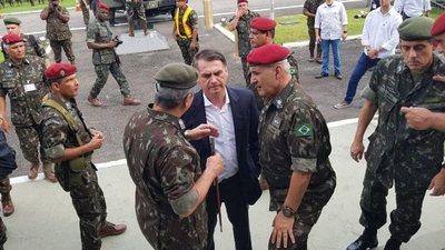 Cae un militar del avión de Bolsonaro con cocaína en España