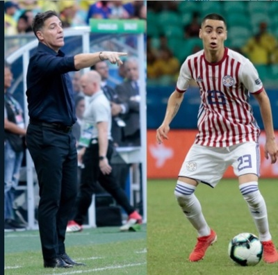 Berizzo y Almirón analizan encuentro ante Brasil