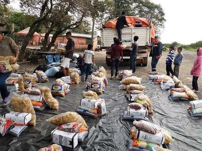 SEN asiste con alimentos a 1.280 familias indígenas del Chaco