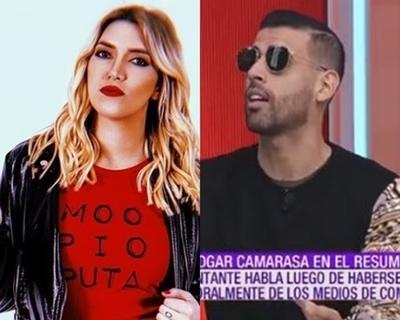 Camarasa habló del reclamo de Carmiña sobre la canción que grabaron