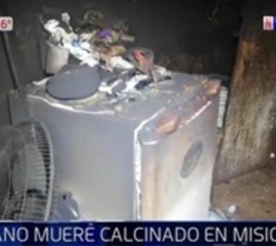 Hombre de 86 años fue encontrado calcinado en su vivienda