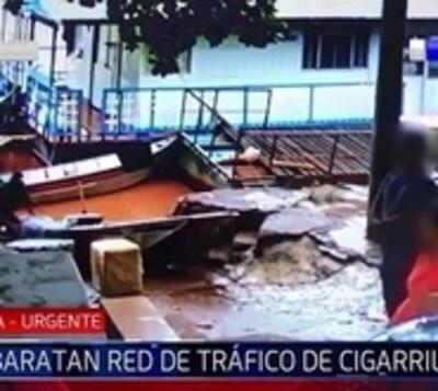 Cae grupo que traficaba cigarrillos paraguayos al Brasil