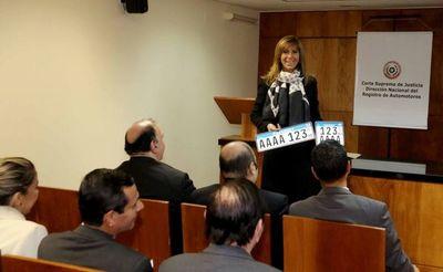Presentan patente del Mercosur a directores del Poder Judicial