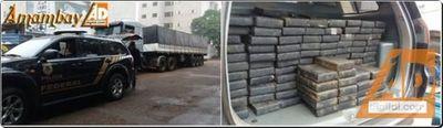 PF apreende cerca de 300 quilos de cocaína em Maracaju