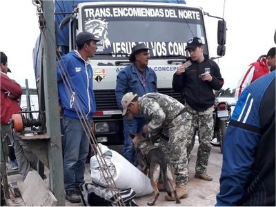 Armada Nacional refuerza control en Puerto Casado