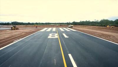 Habilitan obras en aeródromo de Infante Rivarola en el Chaco (con G. 32.600 millones de inversión)