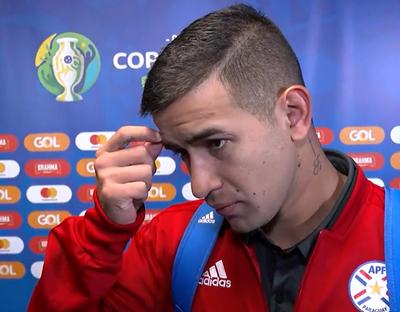 """Derlis González: """"Si me vuelve a tocar, lo volveré a hacer"""""""